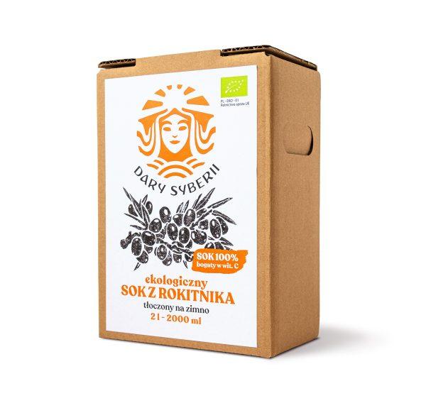 Ekologiczny sok z rokitnika syberyjskiego | 2l