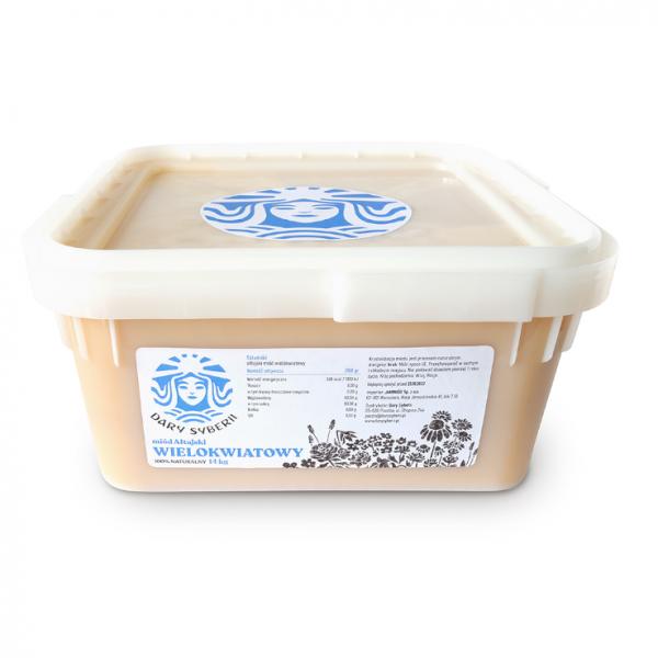 Miód ałtajski wielokwiatowy | 14kg