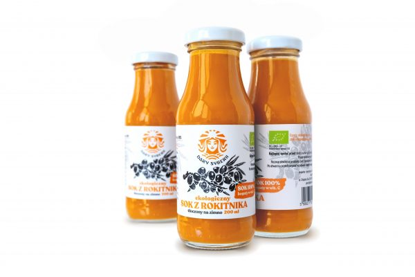 Ekologiczny sok z rokitnika syberyjskiego | 200ml