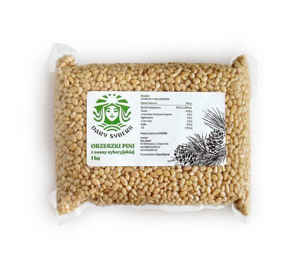 Orzeszki piniowe z sosny syberyjskiej    1kg